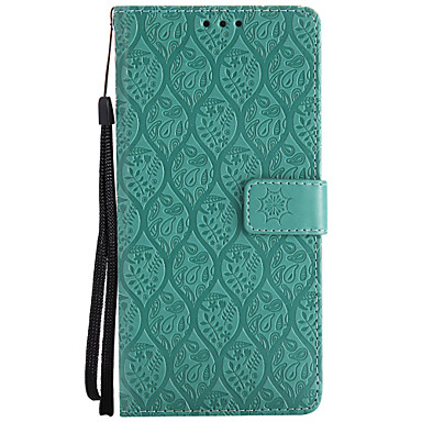 voordelige Galaxy Note-serie hoesjes / covers-hoesje Voor Samsung Galaxy Note 8 / Note 4 / Note 3 Portemonnee / Kaarthouder / met standaard Volledig hoesje Effen Hard PU-nahka