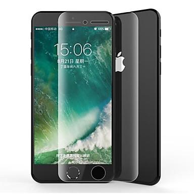 Недорогие Защитные плёнки для экрана iPhone-AppleScreen ProtectoriPhone 8 Pluss 3D закругленные углы Защитная пленка для экрана и задней панели 2 штs TPG Hydrogel