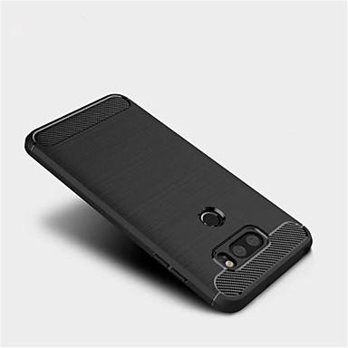 رخيصةأون LG أغطية / كفرات-غطاء من أجل LG LG V30 / LG Q6 / LG G6 مثلج غطاء خلفي لون سادة ناعم TPU