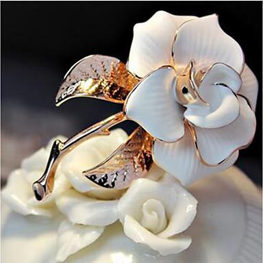 povoljno Broševi-Žene Broševi Cvijet dame Klasik Moda Elegantno Broš Jewelry Obala Crn Za Dnevno Formalan