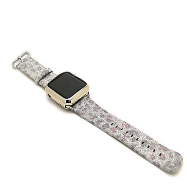 voordelige Smartwatch-accessoires-Horlogeband voor Apple Watch Series 5/4/3/2/1 Apple Moderne gesp Gewatteerd PU-leer Polsband
