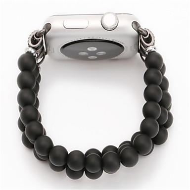 Недорогие Аксессуары для смарт-часов-Ремешок для часов для Apple Watch Series 4/3/2/1 Apple Дизайн украшения Дерево Повязка на запястье