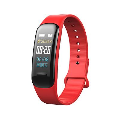 Недорогие Смарт-электроника-C1 PLUS для iOS / Android Пульсомер / Измерение кровяного давления / Информация / Контроль камеры / Контроль APP / Педометр / Напоминание о звонке / Датчик для отслеживания сна / Сидячий Напоминание