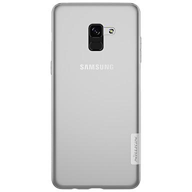 voordelige Galaxy A-serie hoesjes / covers-hoesje Voor Samsung Galaxy A3 (2017) / A5 (2017) / A7 (2017) Ultradun / Transparant Achterkant Effen Zacht TPU