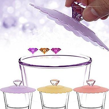 diamant mâner de scurgere de siliciu proof dovleac minunat capac (culoare aleatoare)