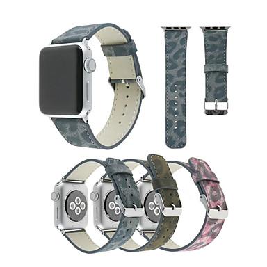 voordelige Smartwatch-accessoires-Horlogeband voor Apple Watch Series 4/3/2/1 Apple Klassieke gesp PU Polsband