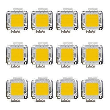 olcso LED-es kiegészítők-12db 1600 lm Izzó tartozék Sárgaréz LED Chip 20 W
