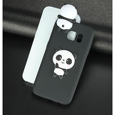 povoljno Maske/futrole za Galaxy S seriju-Θήκη Za Samsung Galaxy S8 Plus / S8 / S7 edge Uzorak / Uradi sam Stražnja maska 3D likovi / Panda Mekano TPU
