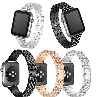 povoljno Apple Watch remeni-Pogledajte Band za Apple Watch Series 4/3/2/1 Apple Moderna kopča Metal Traka za ruku