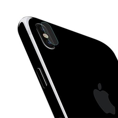 voordelige iPhone X screenprotectors-AppleScreen ProtectoriPhone X High-Definition (HD) Achterkantbescherming 1 stuks Gehard Glas