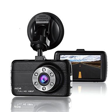 Dash Cam 4 IPS Display Screen Dual Lens Full HD 1080P Dashboard Car Camera Video Recoder DVR 12.0MP 170/°Wide-Angle View Night Vision G-Sensor WDR Loop Recording Motion Detection Parking Monitor
