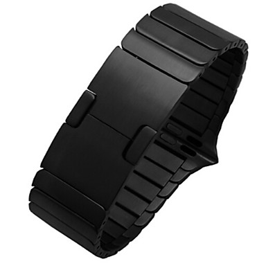 رخيصةأون أساور ساعات هواتف أبل-حزام إلى Apple Watch Series 4/3/2/1 Apple بكلة كلاسيكية ستانلس ستيل شريط المعصم
