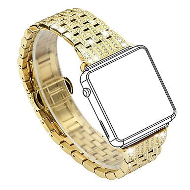 voordelige Smartwatch-accessoires-Horlogeband voor Apple Watch Series 5/4/3/2/1 Apple Klassieke gesp Roestvrij staal Polsband