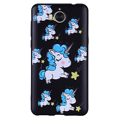 coque pour huawei y6 2017 licorne