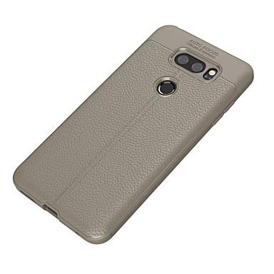 Недорогие Чехлы и кейсы для LG-Кейс для Назначение LG LG V30 / LG Q6 Plus / LG Q6 Ультратонкий Кейс на заднюю панель Однотонный Мягкий ТПУ / LG G6