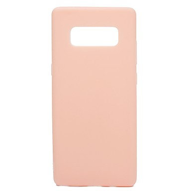 voordelige Galaxy Note-serie hoesjes / covers-hoesje Voor Samsung Galaxy Note 8 Ultradun Achterkant Effen Zacht TPU