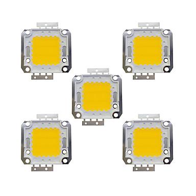 olcso LED-es kiegészítők-5pcs 1600lm Izzó tartozék LED Chip Sárgaréz 20W