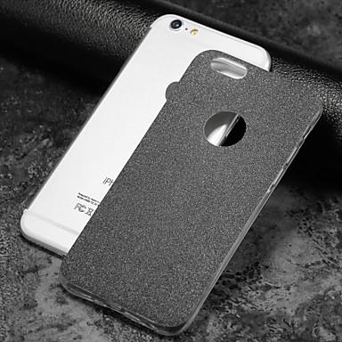 voordelige iPhone-hoesjes-hoesje Voor Apple iPhone X / iPhone 8 Plus / iPhone 8 Mat Achterkant Glitterglans Zacht TPU