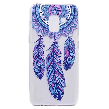 voordelige Galaxy A-serie hoesjes / covers-hoesje Voor Samsung Galaxy A3 (2017) / A5 (2017) / A7 (2017) Transparant / Patroon Achterkant Dromenvanger Zacht TPU