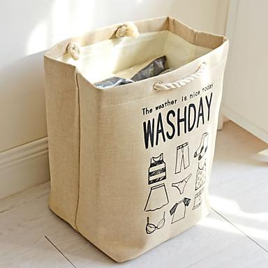 رخيصةأون خزانة الحمام و الغسيل-قطن مستطيل متعددة الوظائف الصفحة الرئيسية منظمة, 1PC حقيبة الغسيل و السلة