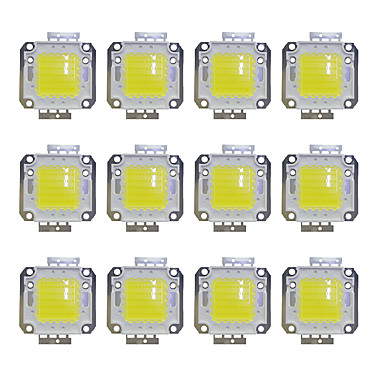 olcso LED-es kiegészítők-12db 3800lm Izzó tartozék LED Chip Sárgaréz 50W