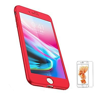 voordelige iPhone-hoesjes-hoesje Voor Apple iPhone 8 Plus / iPhone 8 / iPhone 7 Plus Mat Volledig hoesje Effen Zacht TPU