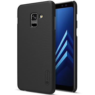رخيصةأون حافظات / جرابات هواتف جالكسي A-Nillkin غطاء من أجل Samsung Galaxy A8 Plus 2018 / A8 2018 ضد الصدمات / مثلج لون سادة قاسي إلى