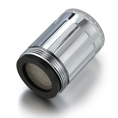 olcso LED csapvilágítás-VEZETTE Könnyű csap Víz Érzékelő Műanyag