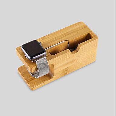 Apple Watch Standaard met adapter Other Bamboe Bureau