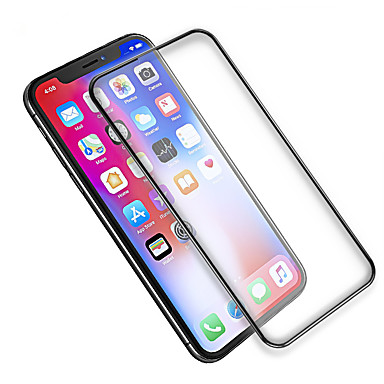 cheap iPhone Screen Protectors-AppleScreen ProtectoriPhone X High Definition (HD) Full Body Screen Protector 1 pc Tempered Glass