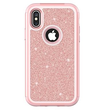 Недорогие Кейсы для iPhone X-Кейс для Назначение Apple iPhone X / iPhone 8 Pluss / iPhone 8 Защита от удара Чехол броня Твердый ТПУ