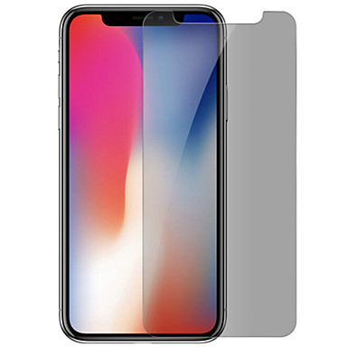 voordelige iPhone X screenprotectors-asling screen protector apple voor iphone x gehard glas 1 pc screen protector privacy anti spion anti vingerafdruk krasbestendig explosieveilige
