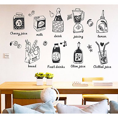 Decorative Wall Stickers   3D Wall Stickers Food / Food U0026 Beverage Kitchen  / Shops / Cafes 6485382 2018 U2013 $3.99