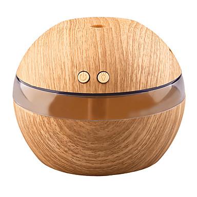 yk30 mini přenosný mlýn výrobce aroma éterický olej difuzor ultrazvukový aroma zvlhčovač světlý dřevěný usb difuzor