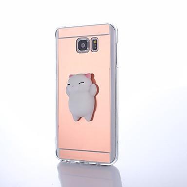 voordelige Galaxy Note-serie hoesjes / covers-hoesje Voor Samsung Galaxy Note 8 / Note 5 / Note 4 DHZ / squishy Achterkant dier Hard Acryl