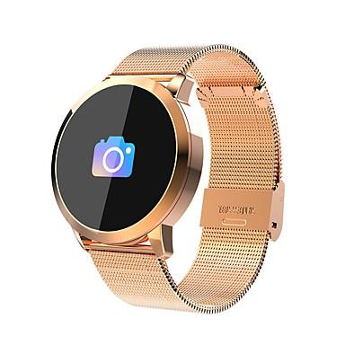 رخيصةأون ساعات ذكية-لون سوار الذكية smartwatch Q8 بلوتوث عداد الخطى ممارسة النوم اختبار معدل ضربات القلب ضغط الدم الأوكسجين