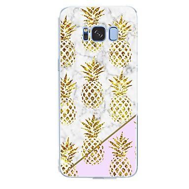 voordelige Galaxy S-serie hoesjes / covers-hoesje Voor Samsung Galaxy S8 Plus / S8 / S7 edge Patroon Achterkant Fruit / Marmer Zacht TPU