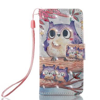 رخيصةأون كفرات/ أغطية أيبود-غطاء من أجل iTouch 5/6 محفظة / حامل البطاقات / مع حامل غطاء كامل للجسم قاسي