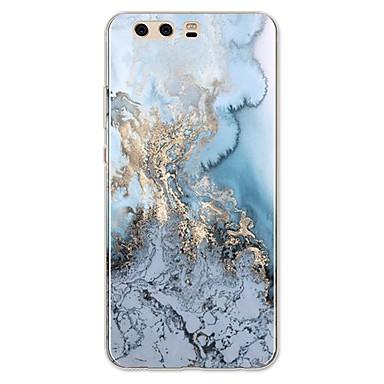 voordelige Huawei Mate hoesjes / covers-hoesje Voor Huawei P9 / Huawei P9 Lite / Huawei P8 P10 Plus / P10 Lite / P10 Patroon Achterkant Lijnen / golven / Marmer Zacht TPU / Huawei P9 Plus