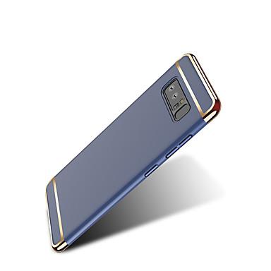 voordelige Galaxy Note 5 Hoesjes / covers-hoesje Voor Samsung Note 8 / Note 5 Ultradun / Origami Achterkant Effen Hard PC