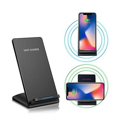voordelige Elektrische apparatuur & benodigdheden-10w snelle draadloze oplader voor voor iphone xs iphone xr xs max iphone 8 samsung s9 plus s8 note 8 of ingebouwde qi-ontvanger slimme telefoon