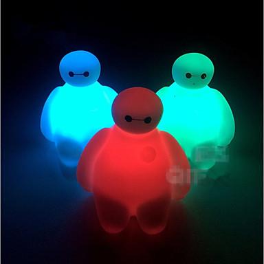olcso Világító játékok-LED világítás Divat Csillanás Világítás Színváltós Puha műanyag Gyermek Játékok Ajándék