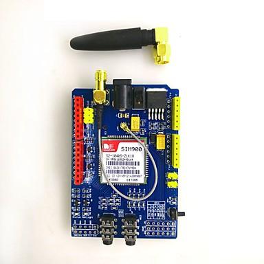 olcso Modulok-sim900 850/900/1800/1900 mhz gprs / gsm fejlesztő kártya modul készlet arduino számára