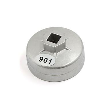 olcso Diagnosztikai eszközök és mérőműszerek-1/2 négyzet alakú, 14 mm-es fuvola 65 mm-es hajtófejes olajszűrő csavarkulcs automatikus szerszám a nissan számára
