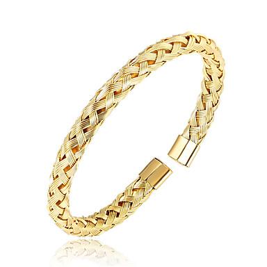 voordelige Fijne Sieraden-Heren Bangles Magnetisch Roestvrij staal Armband sieraden Zwart / Zilver / Goud Rose Voor Dagelijks Uitgaan