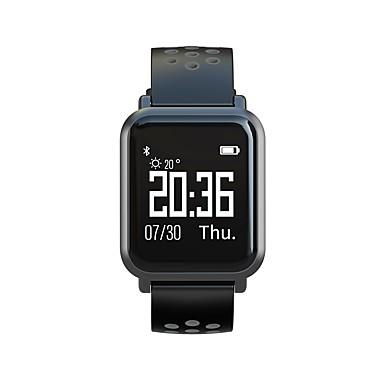 رخيصةأون ساعات ذكية-Atongm001 منفرد شاشة عرض LCD Android iOS بلوتوث أكياس مقاومة للماء الغطاء متضمن تصميم شعبي طارد المياه مؤقت المشي متتبع النوم تذكير المستقرة ساعة منبهة / زر البطارية / NRF51822 / الكرونوغراف