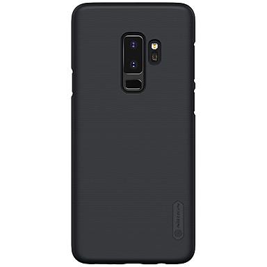Недорогие Чехлы и кейсы для Galaxy S-Кейс для Назначение SSamsung Galaxy S9 / S9 Plus / S8 Plus Защита от удара / Матовое Кейс на заднюю панель Однотонный Твердый ПК