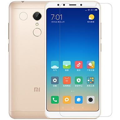 Недорогие Защитные плёнки для экранов Xiaomi-протектор экрана nillkin xiaomi для xiaomi redmi 5 плюс домашнее животное 1 шт спереди& Протектор объектива камеры против бликов