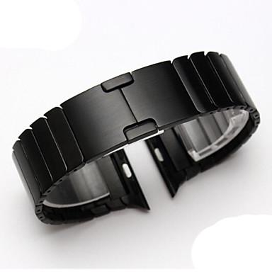 voordelige Smartwatch-accessoires-Horlogeband voor Apple Watch Series 4/3/2/1 Apple Butterfly Buckle Metaal Polsband