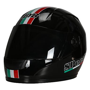 olcso Bukósisakok & maszkok-byb 112 motorkerékpár teljes arc sisak hd lencse lélegző unisex univerzális nyakvédelem